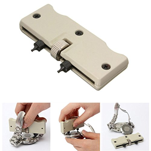 Jaw Percussion (Gotd Watch Adjustable Opener Back Case Press Closer Remover Repair Watchmaker Tool (Gray))