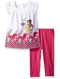 Disney Girls' 2 Piece Beauty and the Beast Legging Set