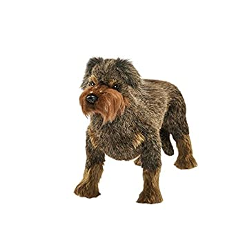 Wire Haired Dachshund Plush Soft Toy by Hansa 6325 34cm.: Amazon.co ...