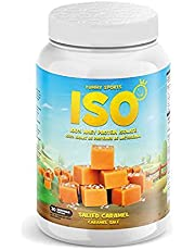 Yummy Sports ISO 2lbs - 27g of protein and approximately 110 calories per scoop, gluten-free, keto-friendly