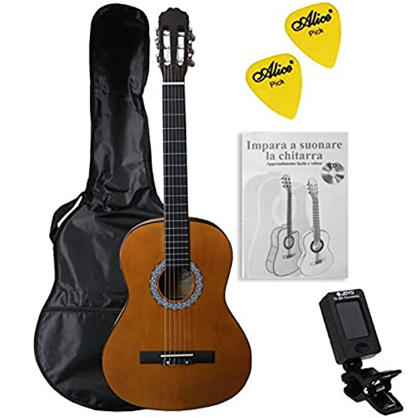 3rd Avenue STX20ARBPK Paquete de guitarra clásica de tamaño ...