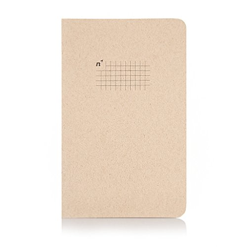 Northbooks Notebook / Journal, 96 Square Grid Pages, Acid Free Sheets, 5x8 | Made in USA