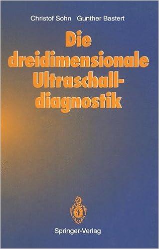 Book Die dreidimensionale Ultraschalldiagnostik