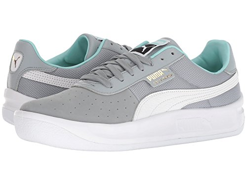 [PUMA(プーマ)] メンズランニングシューズ?スニーカー?靴 California Casual Quarry/Puma White/Puma White 7.5 (25.5cm) D - Medium