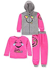 Diva Girls' 3-Piece Pants Set Outfit