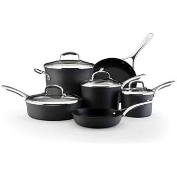 KitchenAid Gourmet Hard Anodized Nonstick 10-Piece Cookware Set