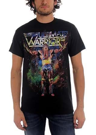 Ultimate Warrior - Camiseta - Hombre de color Negro de talla Small - Ultimate Warrior, The - Warrior Priest Uomo (Camiseta), Small, Nero