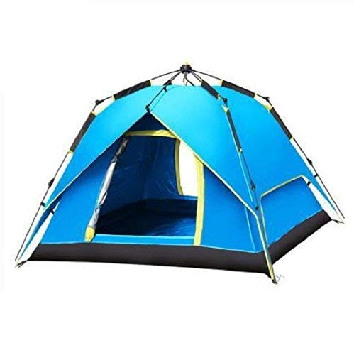 GCC Guo Outdoor Produkte Outdoor 3-4 Personen Automatische Spinnzelte, Viele Menschen Camping Zelte, Oxford Tuch Wasserdicht, Sonnencreme, Home Portable Zelte