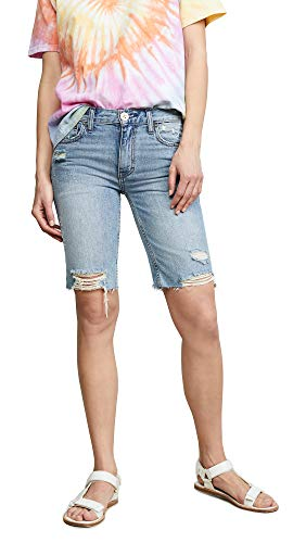 Free People Women's Caroline Cutoff Shorts, Washed Denim, Blue, 27 (Free People Shorts)