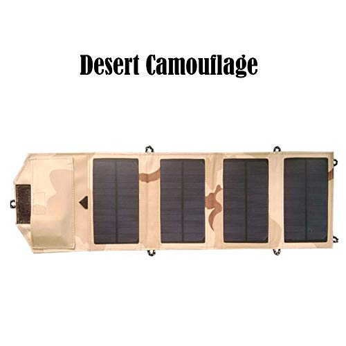 able Solar Panel Charger USB Travel Charger (Desert Camouflage) ()