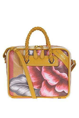 Balenciaga Womens 5581710OTDM5560 Pink Faux Leather Shoulder Bag Shoulder Bags