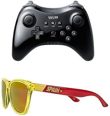Nintendo Wii U - Mando Pro + Hawkers SPAIN - Gafas de sol: Amazon ...