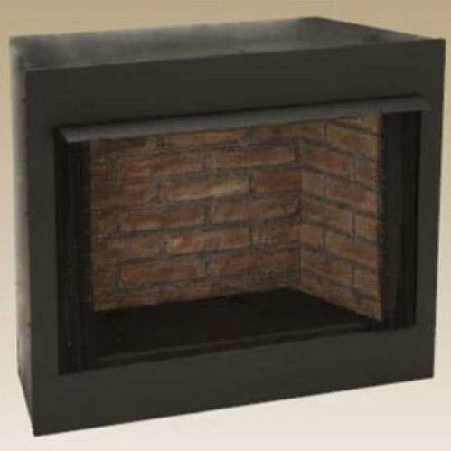 Monessen Gruf42c-f 42-inch Radiant Face Circulating Vent-free Firebox With Cottage Clay Firebrick by ()