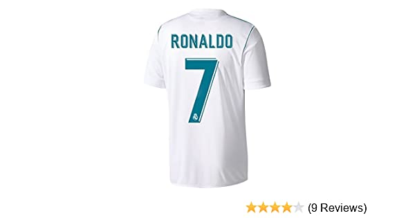 Amazon.com  adidas Men s 2017   2018 Real Madrid Ronaldo Home Jersey   Clothing d1de14a37