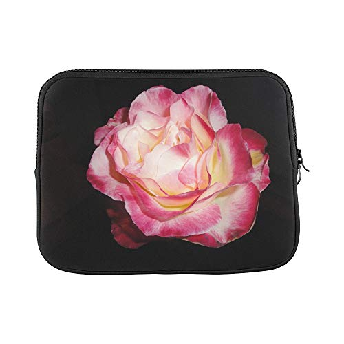 loom Flower Floral Blossom Pink Isolated Sleeve Soft Laptop Case Bag Pouch Skin for MacBook Air 11