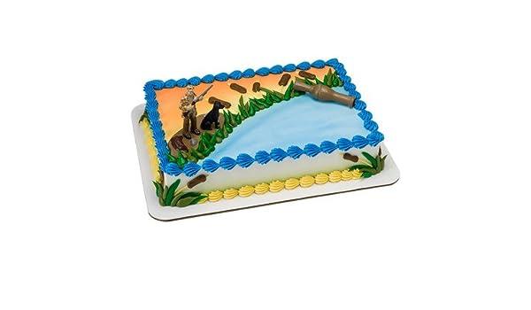 Amazon Duck Hunting Birthday Cake Kit Kitchen Dining