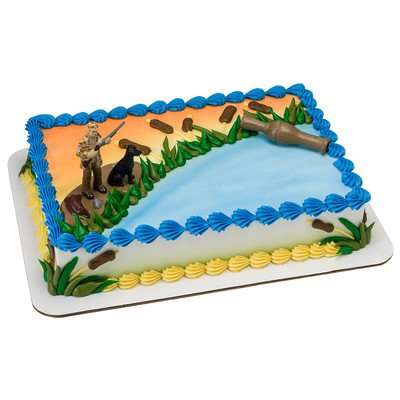 Amazon Duck Hunting Birthday Cake Kit Kitchen Dining