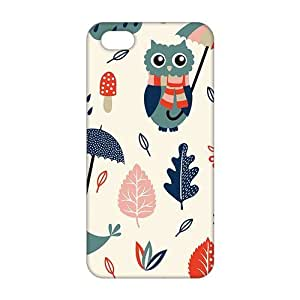 Fortune Cartoon umbrella owl and dove 3D Phone Case For Samsung Galaxy S3 i9300 Cover