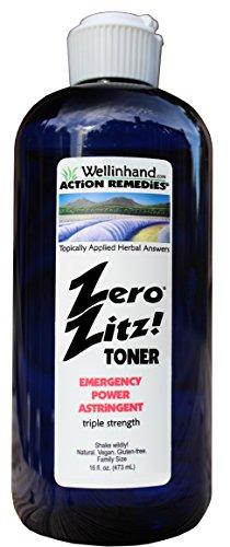 Zero Zitz Astringent (Zero Zitz! Emergency Power 16 fl.oz. Toner Refill Economy)