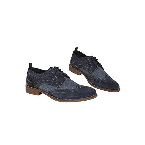 Nebulus Zapatos de Cordones Bottes Azul EU 44 NQvz20Palu