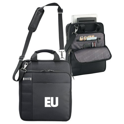 Evangel Kenneth Cole Black Vertical Checkpoint Friendly Messenger 'EU' by CollegeFanGear