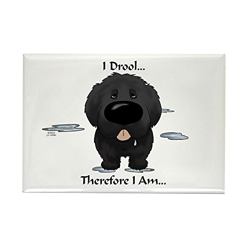CafePress Newfie Rectangle Magnet Refrigerator
