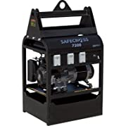SafeCross Anti-Theft Portable Generator - 7200 Surge Watts, 6000 Rated Watts, Model# SAFECROSS 7200