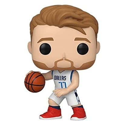 Funko POP! NBA: Dallas Mavericks - Luka Doncic: Toys & Games