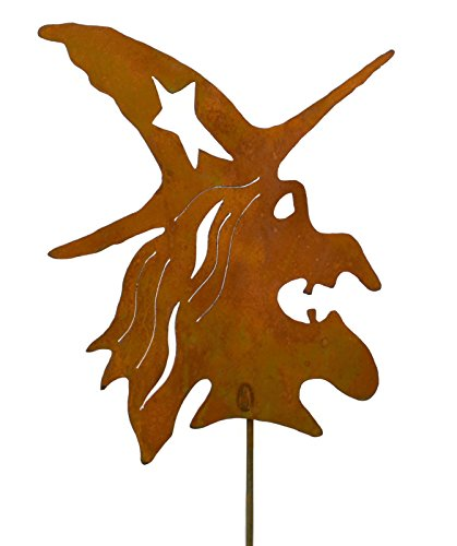 Witch Rustic Metal Yard Stake. Whimsical Halloween Decoration Idea. Handcrafted by Oregardenworks in the USA!