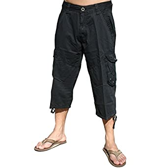 Mens Cargo Capri Shorts #A7CA | Amazon.com