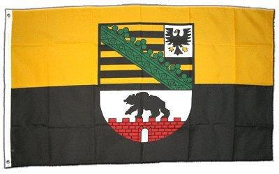 Flagge Deutschland Sachsen-Anhalt - 60 x 90 cm Flaggenfritze