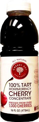 Cherry Bay Orchards Tart Juice Concentrate, Cherry, 16-Ounce ()
