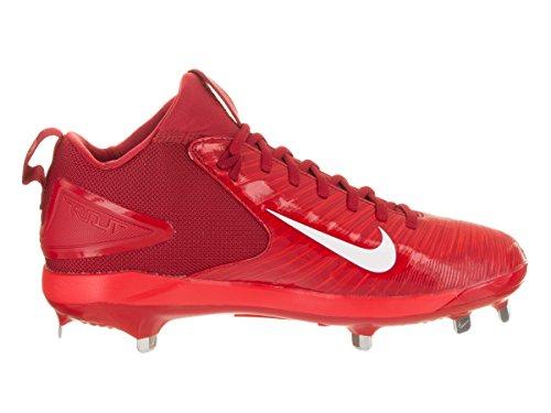Nike Mens Öring Tre Pro Baseball Knap Röd / Vit