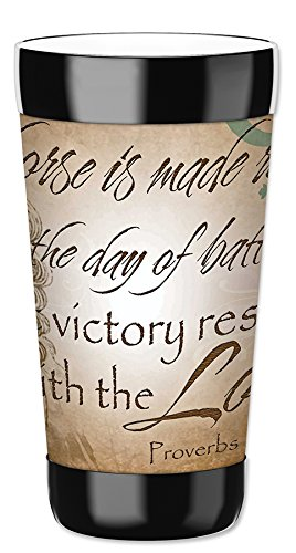 Mugzie 16 Ounce Travel Mug / Drink Cup with Removable Insulated Wetsuit Cover - Victory (Wetsuits Victory)