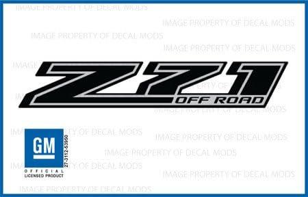 3x GENUINE SILVERADO LTZ Nameplate Emblem Badge 3D 1500 2500HD OEM Red Line F