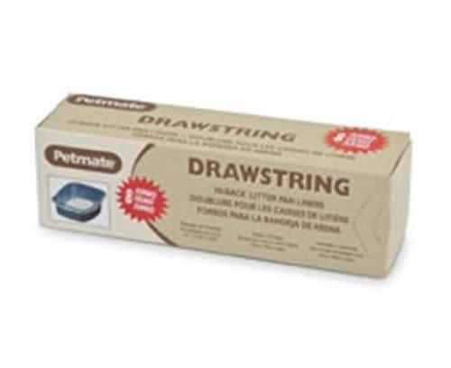 High-Back Litter Pan Liners Size: Jumbo 8 Piece 36.25'' x 20.5''