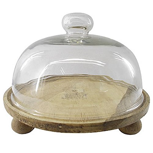 A&B Home KIH39330 Urban Garden Domed Cake Stand