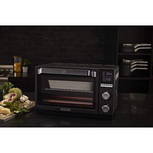 Calphalon Quartz Heat Countertop Toaster Oven, Dark Stainless Steel (Renewed) by Calphalon (Image #7)