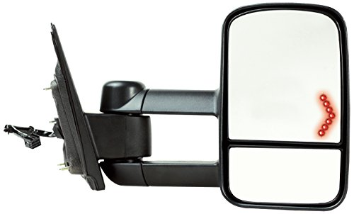- Fit System 62135G GM Silverado/Sierra 1500 Right Side Heated and Power Towing Mirror