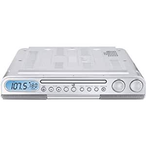 Amazon.com: GPX KC218S Under Cabinet CD Player with AM/FM