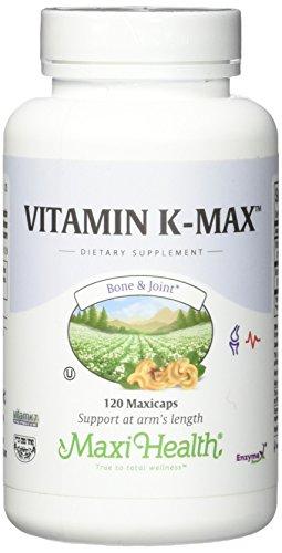 Maxi Vitamin K-Max, 120 Count by Maxi-Health