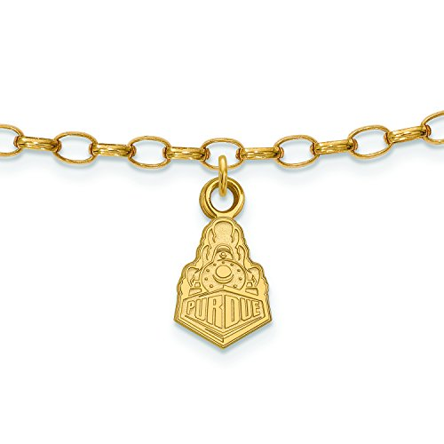 discount Purdue Anklet (Gold Plated)