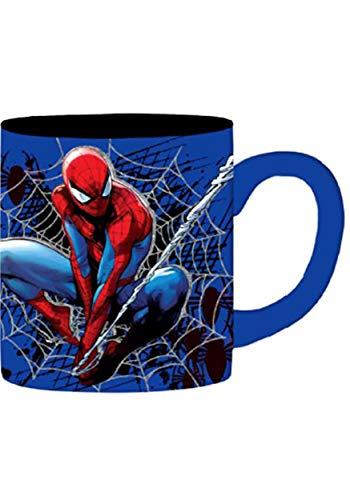 Spider Man Jumbo Web - Spider Man Icon and Web 20oz Jumbo Ceramic Mug Standard