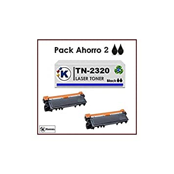 Brother HLL2340DW - Pack Ahorro 2xK TN2320 Tóner compatible ...