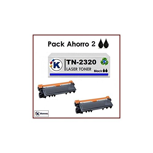 Brother HLL2340DW - Pack Ahorro 2xK TN2320 Tóner compatible para ...