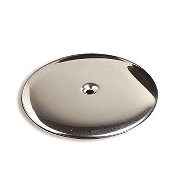 acquastilla 101171 Deckel aus Stahl Siphonabdeckung und Abdeckung Schraube