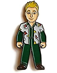 """Firefly Alan Tudkyk as Hoban""""Wash"""" Washburne Licensed FanSets Pin MicroVerse"""