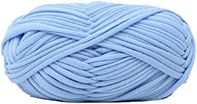Ovillo de lana para tejer, color azul claro, 100 g: Amazon.es ...