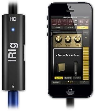 Irig Hd Guitar Interface Numerique Pour Ios Et Mac Amazon Fr