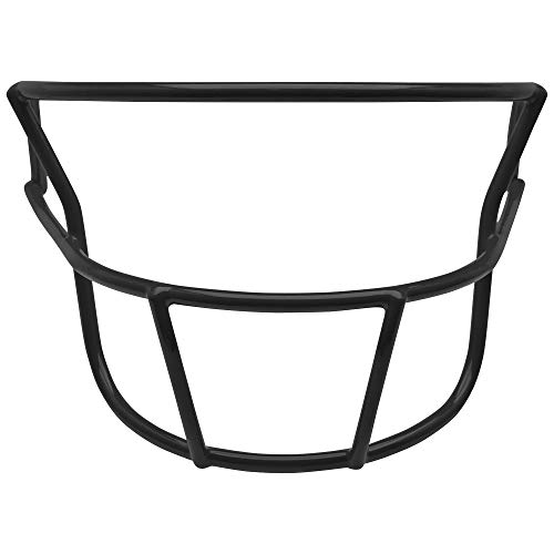 Adult Football Face Mask - Schutt DNA OPO YF Youth Faceguard (Black, Youth)